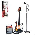 Музыкальная установка «Рок-н-ролл 2»: гитара, микрофон, усилитель