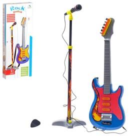 Музыкальная установка «Рок-н-ролл-3»: гитара и микрофон