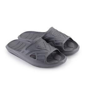 Слайдеры мужские, цвет серый МИКС, размер 40
