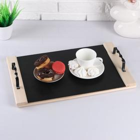 The tray of the chalk Board, wooden