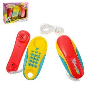 Телефон «Забавные разговорчики», в наборе 2 телефона, МИКС