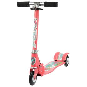 Самокат Foxx Fairy Tale, сталь, колёса PU 100 мм, ABEC-7, цвет персиковый