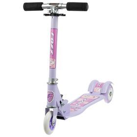 Самокат Foxx Smooth Motion, сталь,колёса PVC 100 мм, ABEC-7, цвет фиолетовый