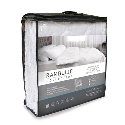 "Quilted mattress topper ""of Rumbula"", size 140 × 200 cm"