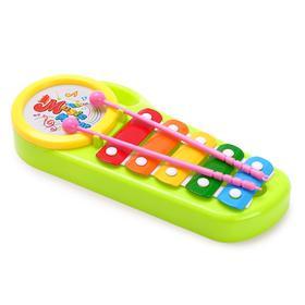 Металлофон «Музыкант», цвета МИКС
