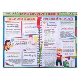 """Плакат """"Русский язык"""" А2"""