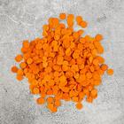 Confetti 0.5 mm, 20 grams, color: dark orange 3853251