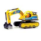 Трактор инерционный «Экскаватор», цвета МИКС - фото 105655544