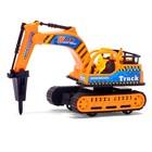 Трактор инерционный «Экскаватор», цвета МИКС - фото 105655549