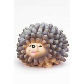 Резиновая игрушка «Ёжик Шуша « массажный, 10 см