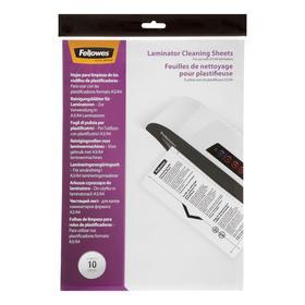 Чистящий лист для ламинаторов Fellowes CRC53206, 10 штук