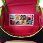 Ранец Стандарт Grizzly RAm-084, 33 х 25 х 13 см, + мешок для обуви - фото 747596