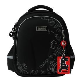 Рюкзак каркасный Grizzly RAz-087 36*28*20 мал, чёрный RAz-087-9_1