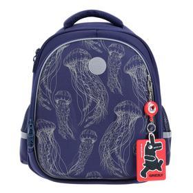 Рюкзак каркасный Grizzly RAz-086 36*28*20 мал, тёмно-синий RAz-086-9_2