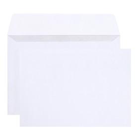 Набор конвертов С6, 114 х 162 мм, чистый, без окна, силиконовая лента, внутренняя запечатка, 80 г/м2, 25 штук