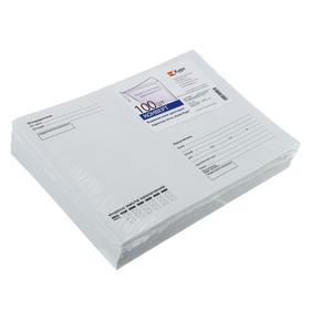 """Набор конвертов С5, 162 х 229 мм, """"Кому-куда"""", без окна, клей, без запечатки, 80 г/м2, 100 штук"""