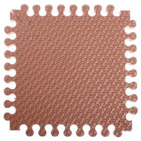 """Детский коврик-пазл """"Треугольник"""" 33*33см *18 мм (кофе с молоком) термо пленка"""