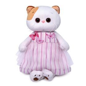 Мягкая игрушка «Ли-Ли», в платье с бабочками, 24 см