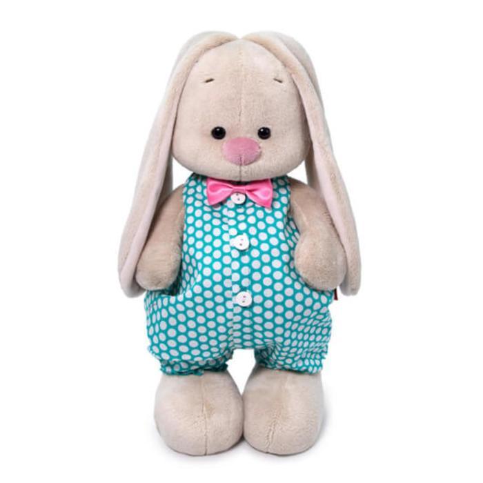 Мягкая игрушка «Зайка Ми», в изумрудном комбинезоне, 25 см - фото 4471481