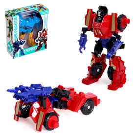 """Robot transformer the """"super-soldier"""", Col.red"""
