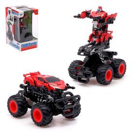 Робот-трансформер «Монстр», инерционный, цвет красный