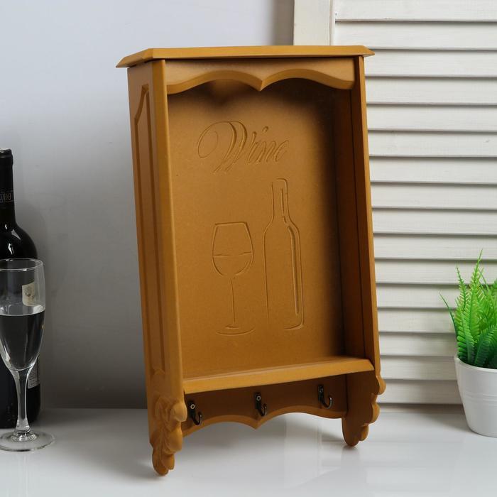 Копилка для винных пробок (40,5х24х9,5) Сосна