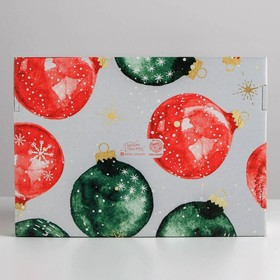 Складная коробка «Уютного нового года», 30,7 × 22 × 9,5 см