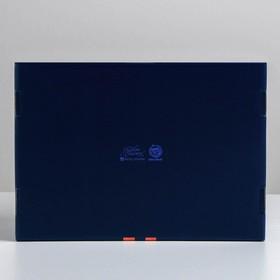 Складная коробка «Теплоты», 30,7 × 22 × 9,5 см