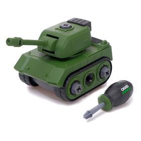 Конструктор винтовой» Военный транспорт», Танк
