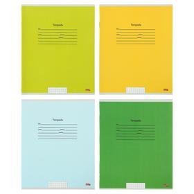 Тетрадь 18 листов в клетку «Учусь на отлично-2», обложка мелованный картон, блок офсет, МИКС