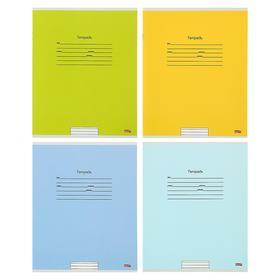 Тетрадь 18 листов в линейку «Учусь на отлично-3», обложка мелованный картон, блок офсет, МИКС