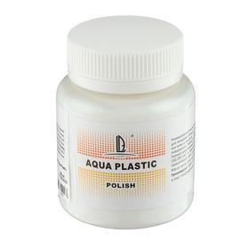 Лак акриловый для мягких поверхностей, 80 мл, глянцевый, на водной основе, LUXART Aqua Plastic