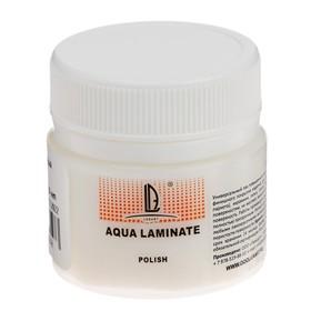 Лак акриловый, водная основа, глянцевый, полиуретановый, 20 мл, LUXART Aqua Laminat, для твёрдых поверхностей