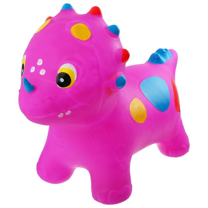 Попрыгун «Динозаврик», 53 х 67 х 27 см, вес 1600 г, цвета МИКС - фото 105515126