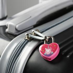 Замочек для чемодана с ключами «Единорог» - фото 1786893