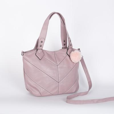 Bag wives 8804 26*12*25 the division zipper, long strap, pink