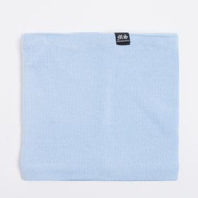 Шарф-снуд детский, цвет голубой, размер 26х25