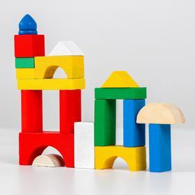 Деревянная игрушка Конструктор «Строим сами»