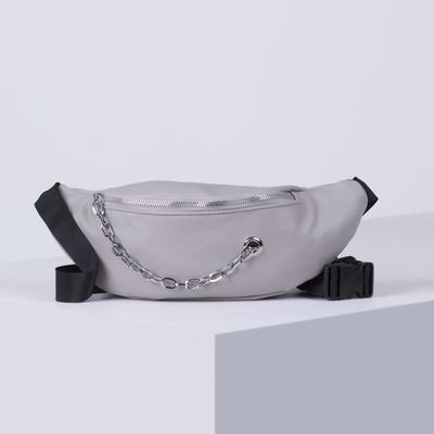 Bag lower L-H333, 33*7*14 Department zip, grey