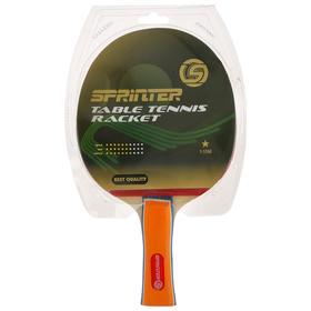 Ракетка для игры в настольный тенис Sprinter 1*, для начинающих игроков