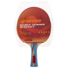 Ракетка для игры в настольный тенис Sprinter 5*****, для опытных игроков