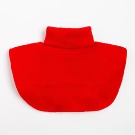 Шарф-манишка, цвет красный (3-8 лет)