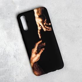 "Phone case for Samsung A50 ""Creation of Adam"", 7.5 x 15,85 cm"