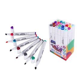 Набор двухсторонних маркеров для скетчинга Mazari Vinci, Main colors (основные цвета), 24 цвета