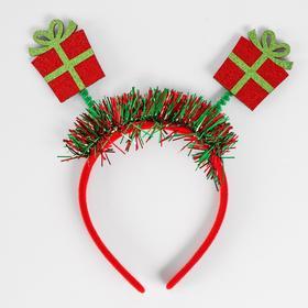 Карнавальный ободок «Подарок»