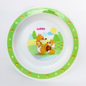 Тарелка на присоске, от 6 мес, 400 мл. цвет МИКС