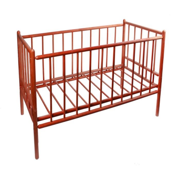 Детская кроватка «Женечка-7», цвет вишня