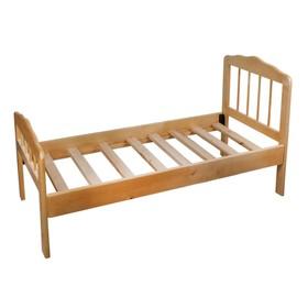 Детская кроватка «Непоседа-2», 140 см × 63 см × 21 см., массив берёзы, цвет светлый