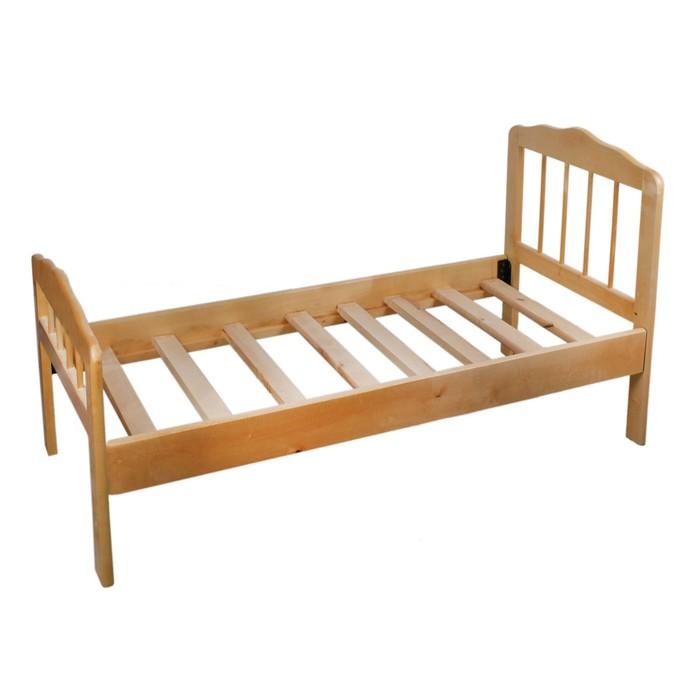 Детская кроватка «Непоседа-2», 140 см × 63 см × 21 см., массив берёзы, цвет светлый - фото 105549871