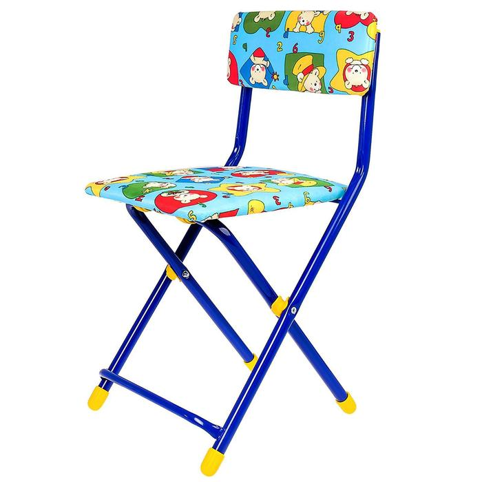 Набор детской мебели «Никки. Азбука 3» складной, цвета стула МИКС - фото 538091335